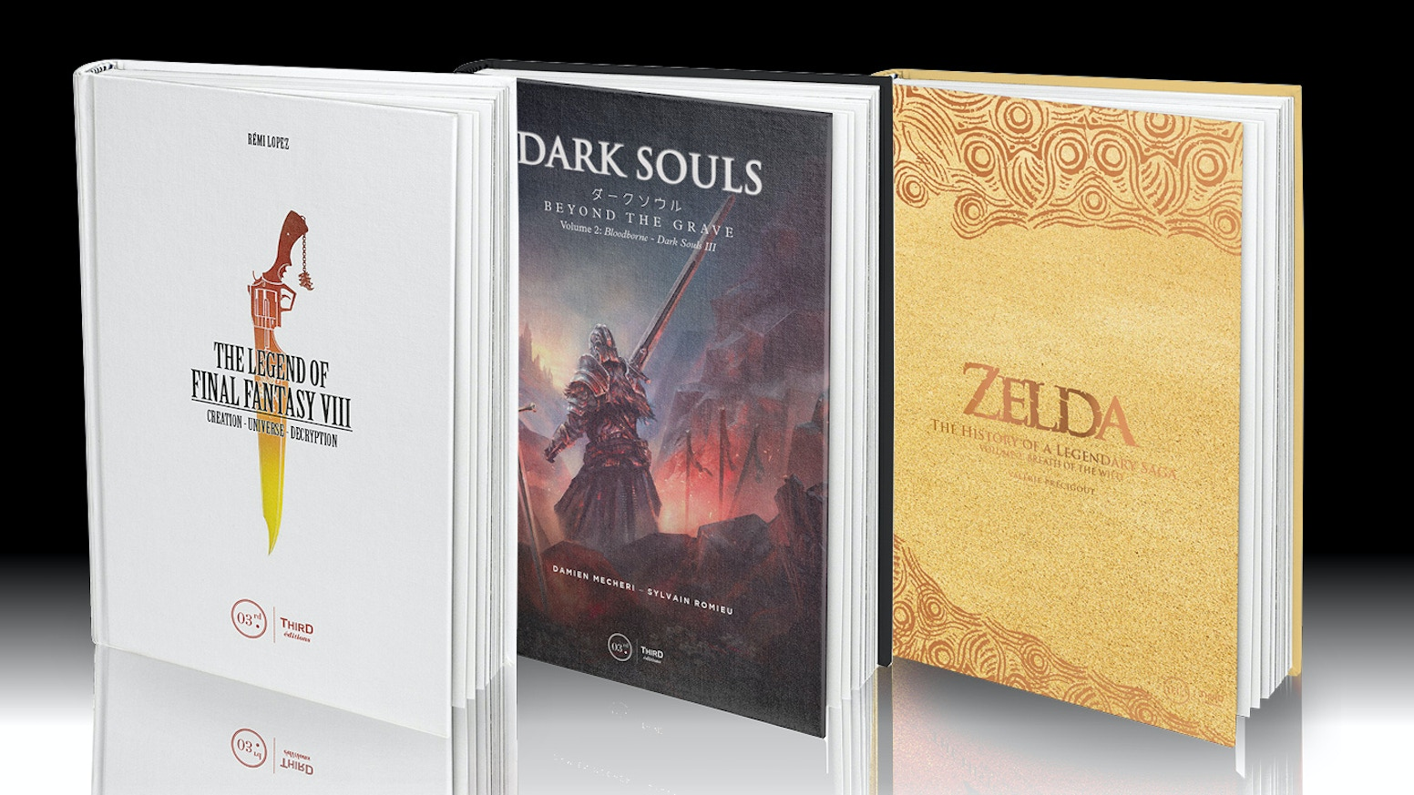 After a successful first KS campaign, Third Editions is back with a new campaign to bring more of its video game books to the world.
