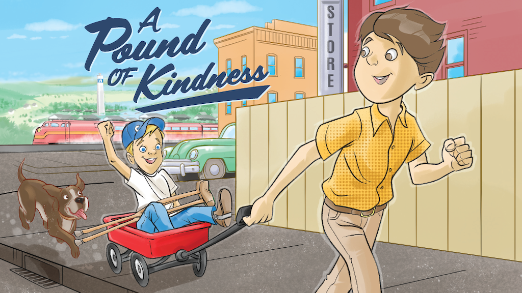 A Pound of Kindness - Children's Book project video thumbnail