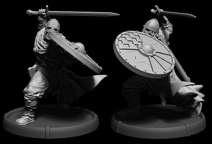 Darklands: Savage Hordes IV by Mierce Miniatures » Done Holumenn