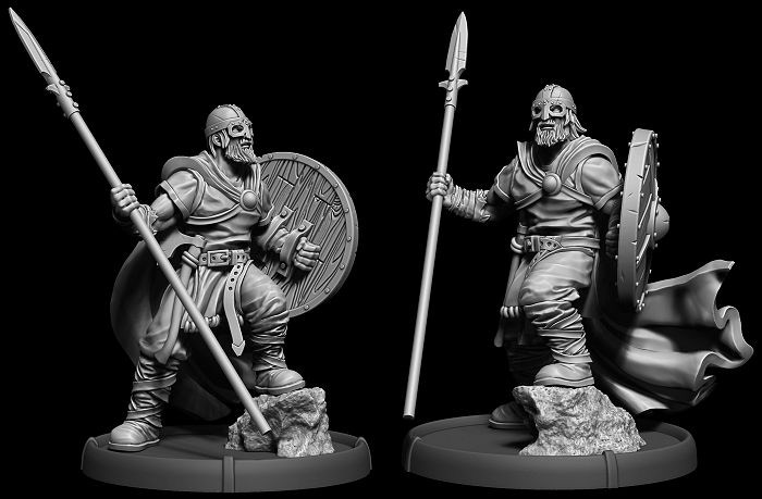 Darklands: Savage Hordes IV by Mierce Miniatures » Done Holumenn