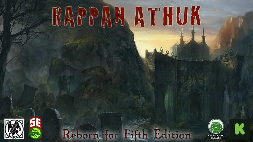 Rappan Athuk: Reborn for Fifth Edition! Go down the Well! Project-Video-Thumbnail