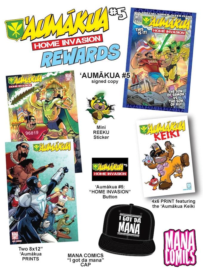 Aumakua #5 Home Invasion REWARDS!