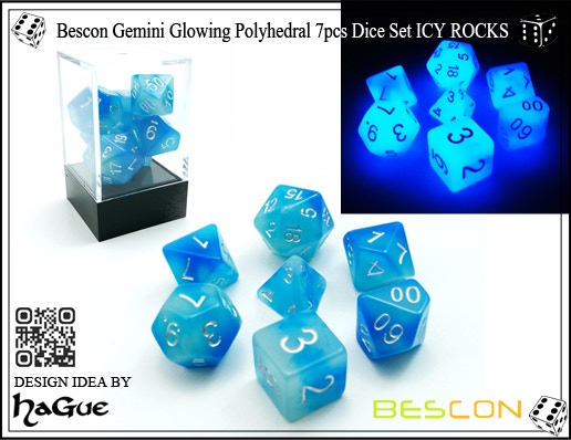 ICY ROCKS (Design by me, producer: BESCON)