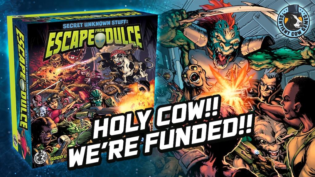Secret Unknown Stuff: Escape from Dulce - Co-op Sci-Fi Fun! project video thumbnail