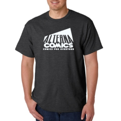 Show your Alterna Comics pride in this shirt!
