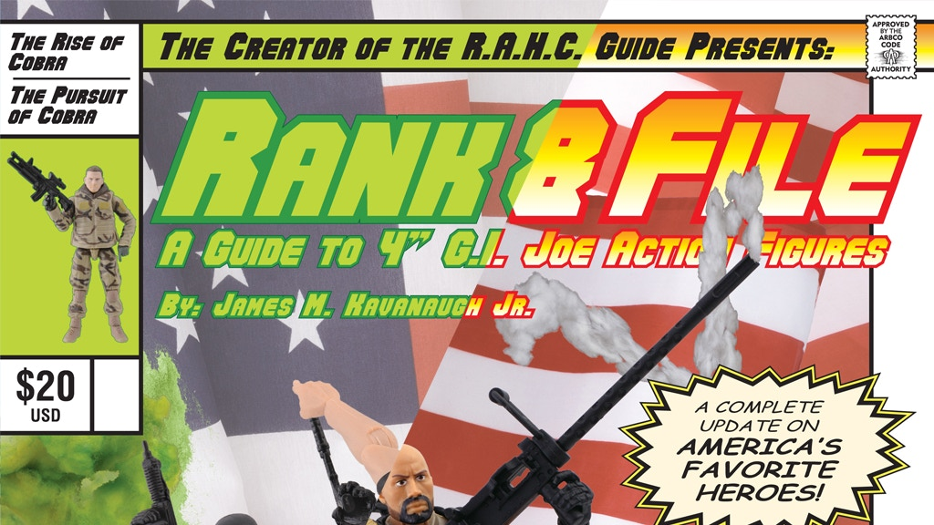 Rank & File Volume 2 & 3 Reprints. G.I. Joe resource guides! project video thumbnail