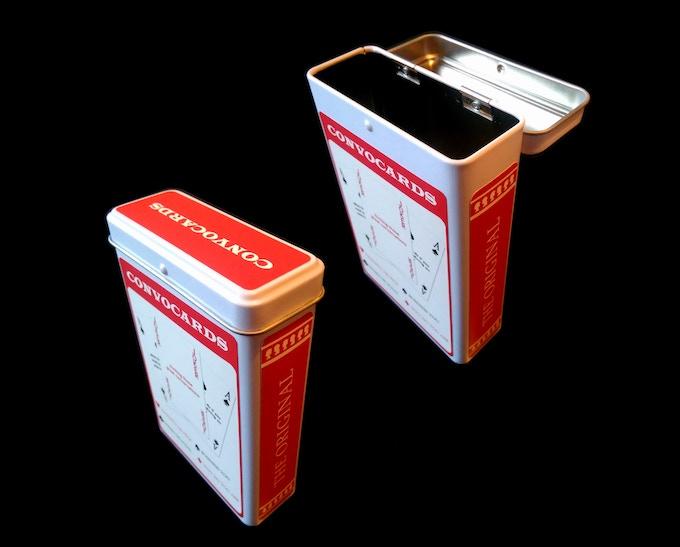 The Original Hinged Tin Box