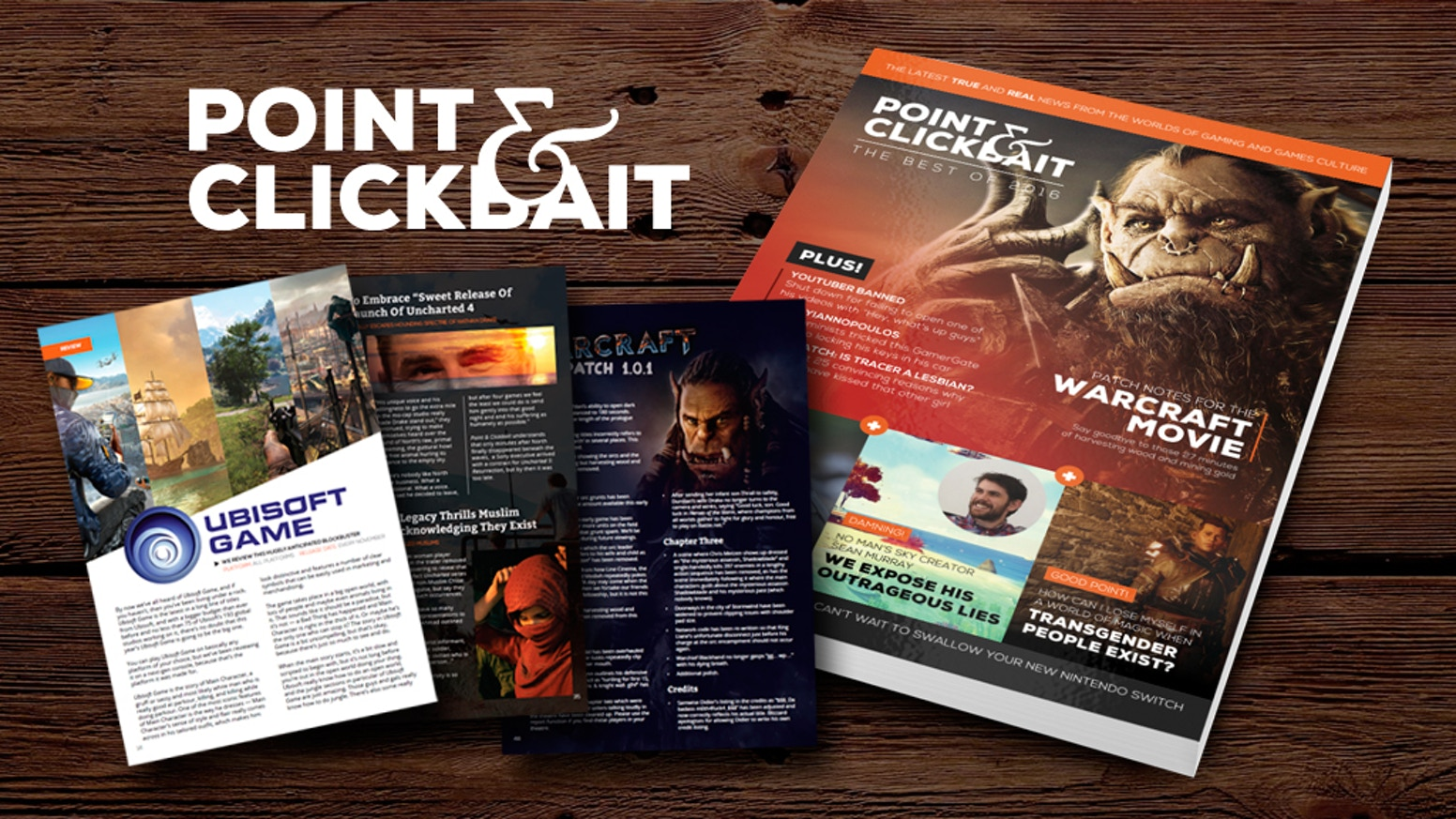 Point Clickbait The Best Of 2016 By Tim Colwill Pdf Copies