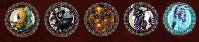 Example of Tokens- Each unlocked pack contains 20 tokens of creatures from Rappan Athuk.