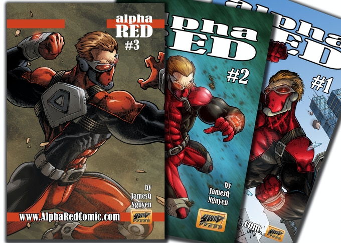 Digital & Print Copies of Alpha Red!