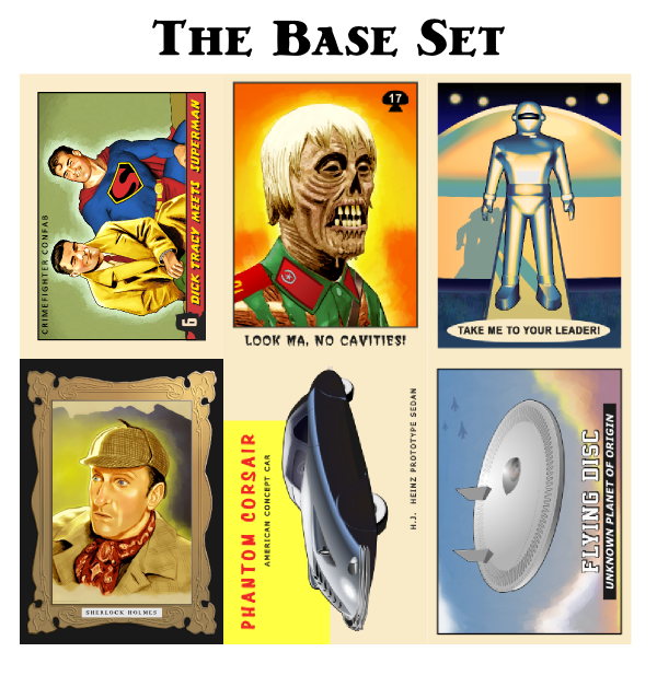 The base set of preview cards