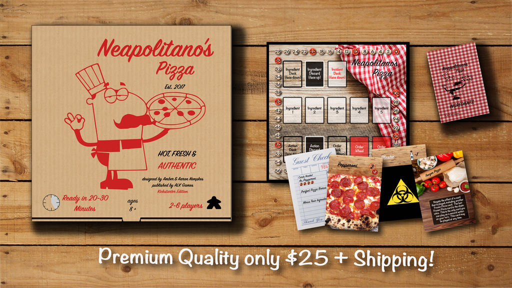 Neapolitano's Pizza- a delicious set collection game!