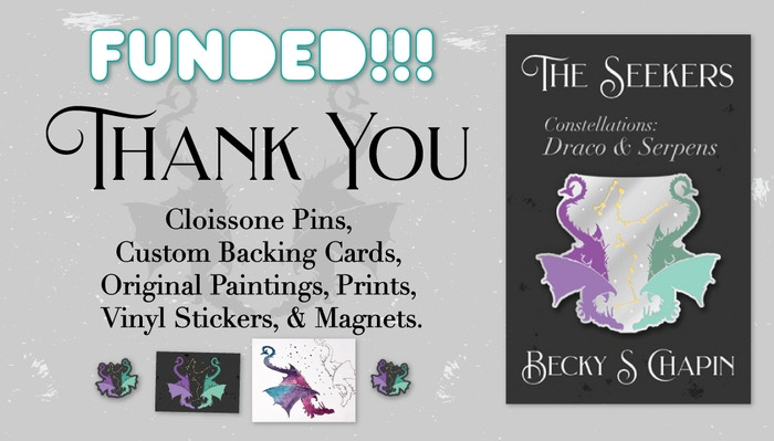 Thank you so much, to everyone who helped bring these Dragons to life! At the moment, there are still some available from #Make100.