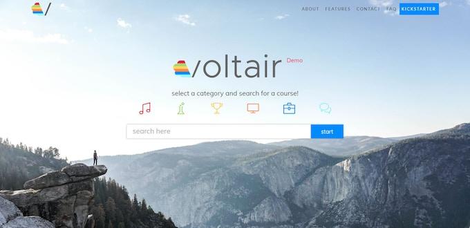 voltair.cloud homepage