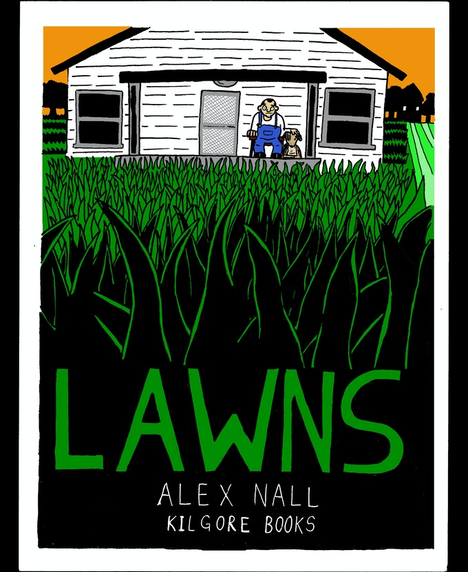 Lawns, 6x9, b/w, 100 pages