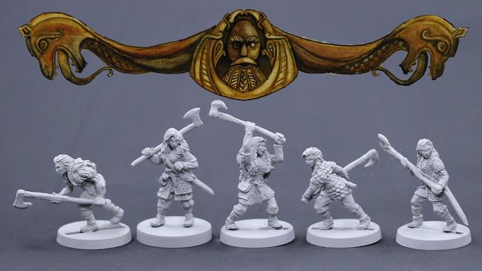 Viking Females Set 1