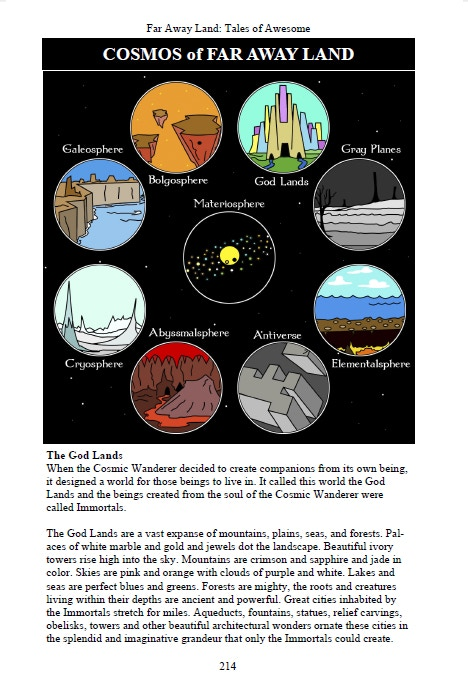 A look at the various spheres from the Tome of Awesome.