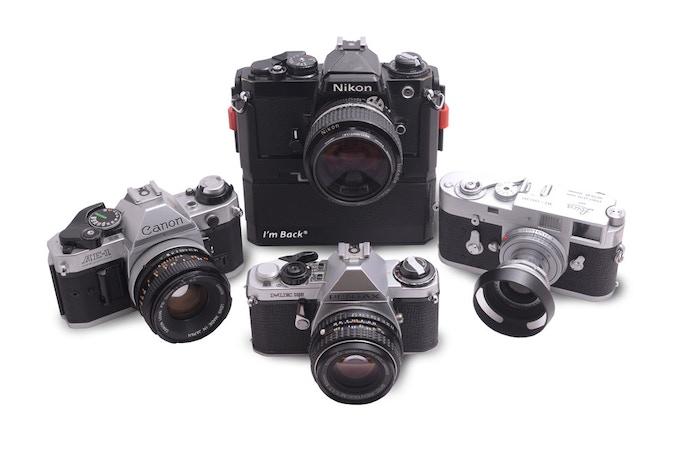 Turn your analog camera into digital.