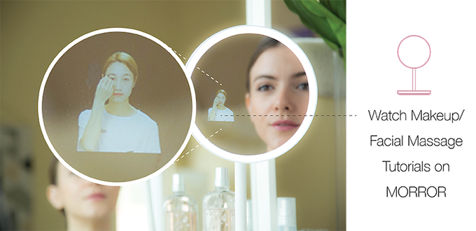 Morror The Smart Makeup Assistant On Your Vanity By Themorrorteam