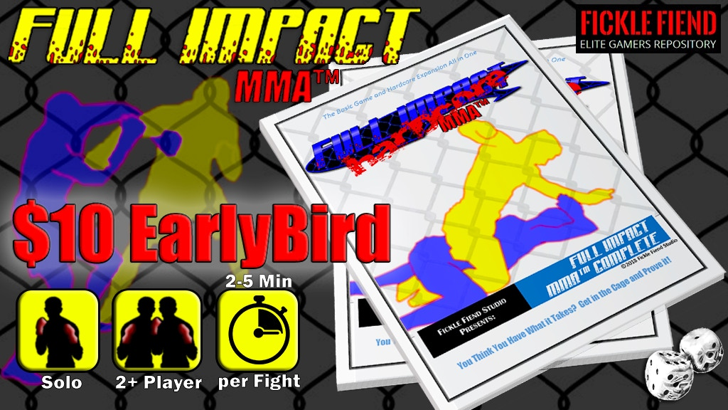 Project image for Full Impact MMA - GET IN THE CAGE!