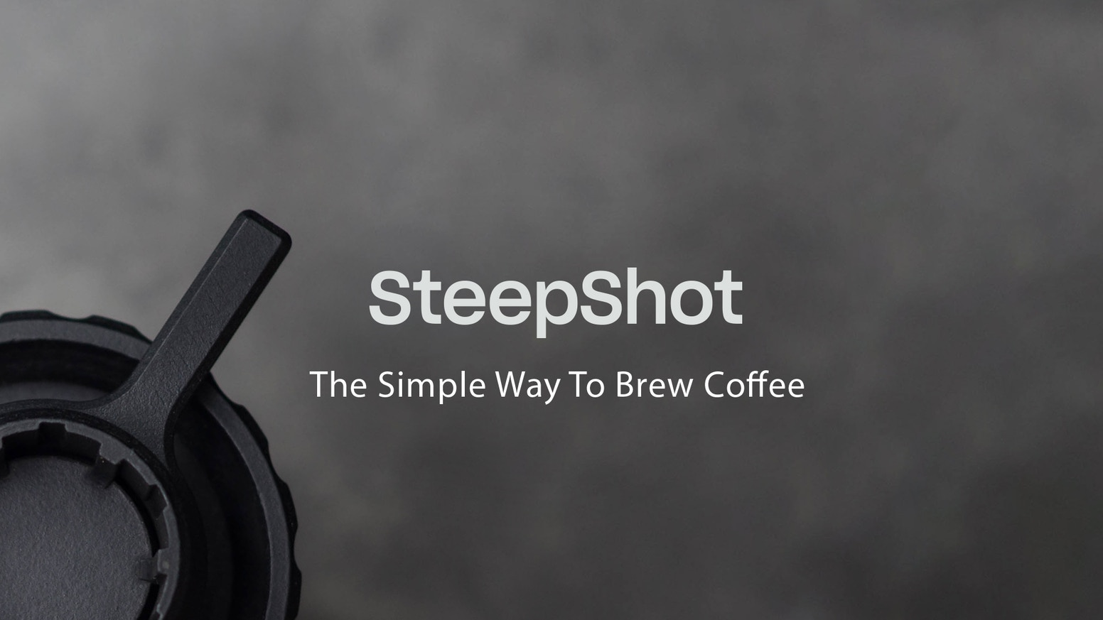 The portable coffee brewer that utilises its own accumulated pressure to brew delicious coffee in under one minute. We are now live on Indiegogo!