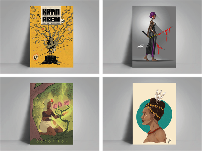 The Kugali Anthology by Kugali — Kickstarter