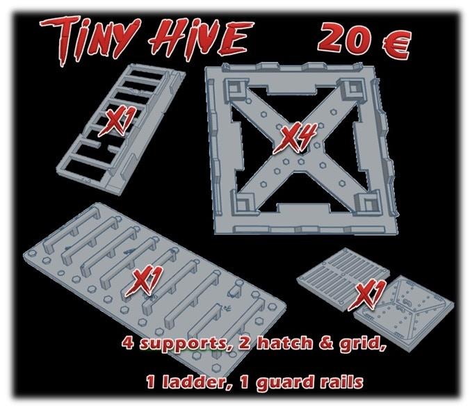 The tiny hive : 20€