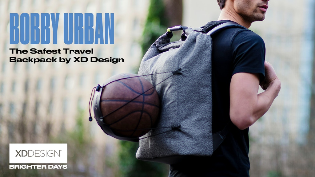 Bobby Urban - The Safest Travel Backpack by XD Design project video thumbnail