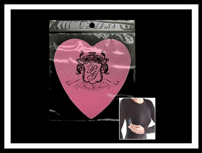 Heart Shape Garment Cleaning Sponge