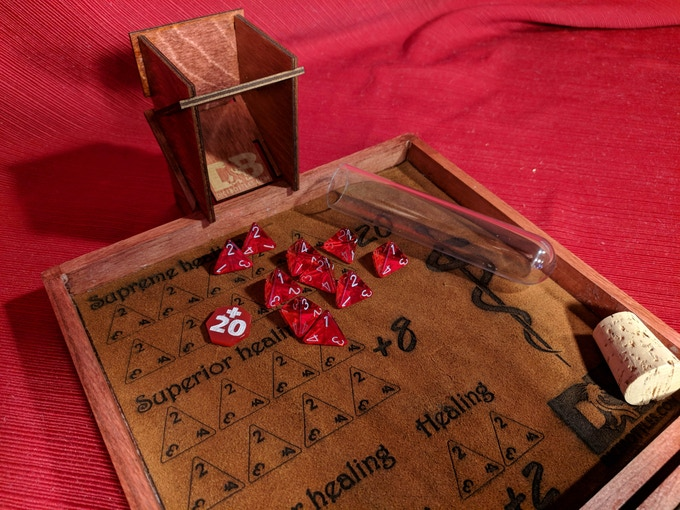 $20,000 Stretch Goal - Matching Dice Tower