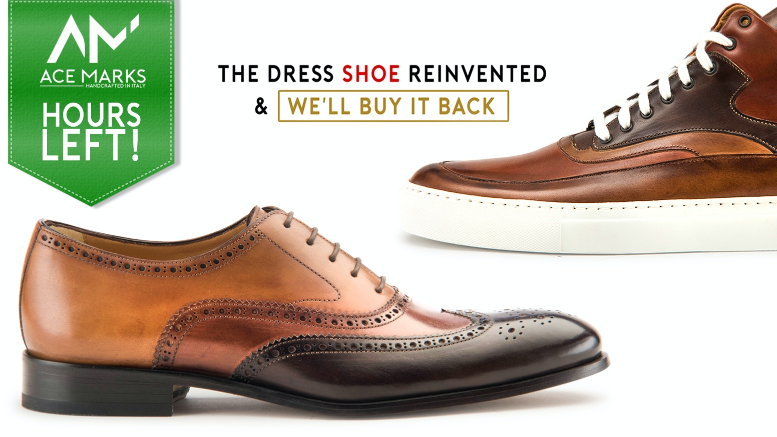 The first bold, comfortable, & affordable handcrafted Italian leather shoes & sneakers with a buyback option to strengthen communities.