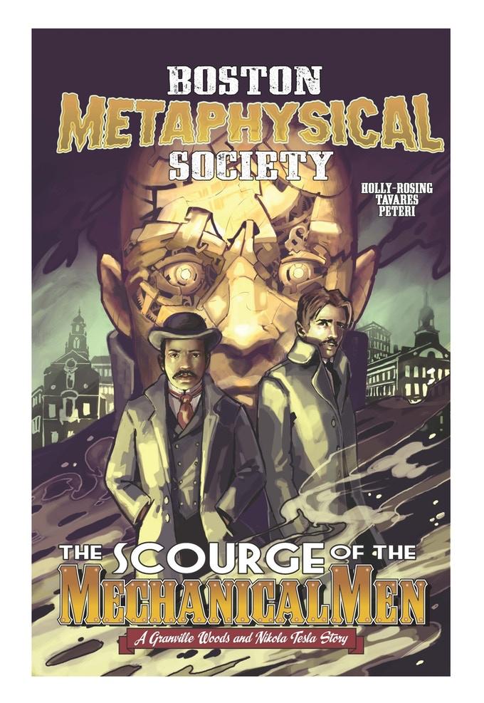 Boston Metaphysical Society cover by Gwynn Tavares