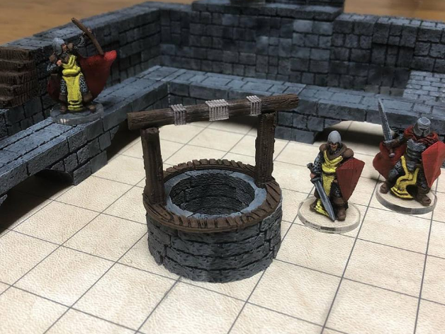 Village Well kit, available on Thingiverse