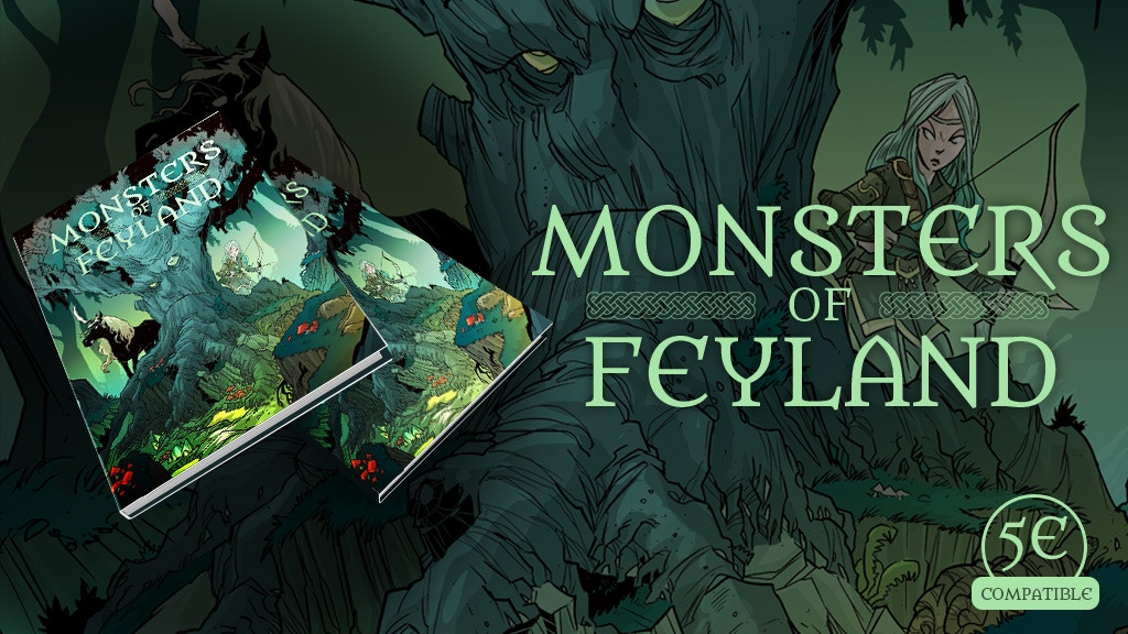 Monsters of Feyland for 5th Edition project video thumbnail