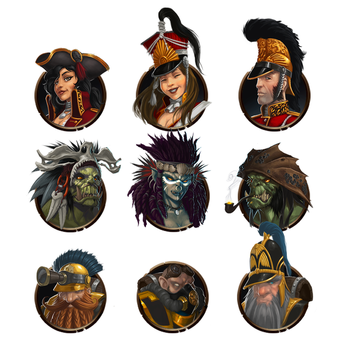 Just a few examples of mates from each race - there are tons to find and collect!