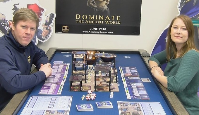 This is a full play through that showcases several of the advanced game concepts such as Destroying Buildings, Aimed Attacks, Events, and Mayhem Cards.