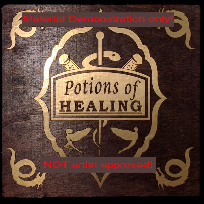 Dice Bottles - DnD 5e Healing Potion Kit by Jonathan Ross — Kickstarter