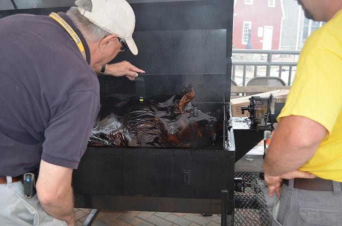 Pig Roast on Social Saturday