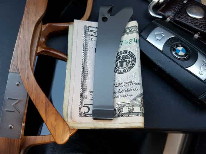 Keep things slick while getting more than just a traditional money clip