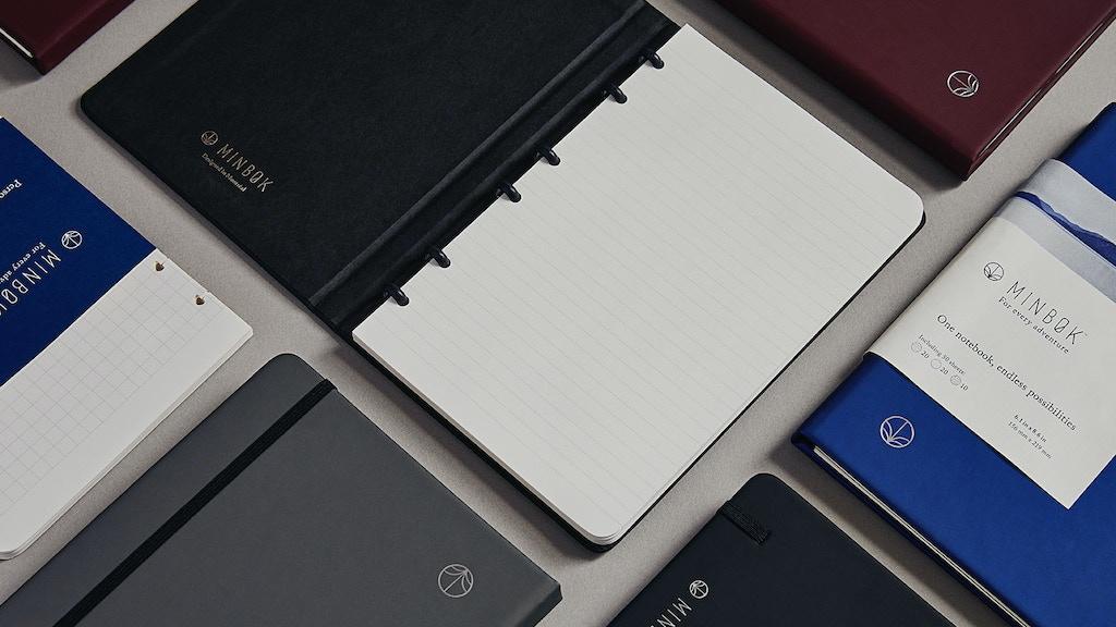Minbøk notebook | Versatile, lightweight & elegant project video thumbnail