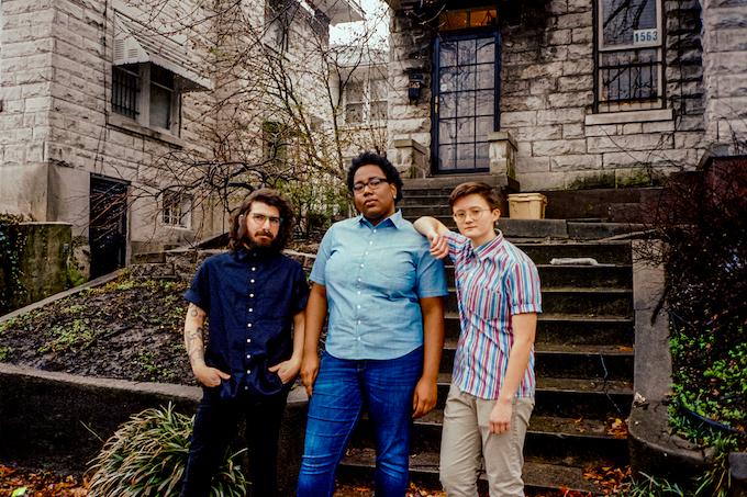 Left to Right: Jackson (XL), Mia (XL), Ethan (S)