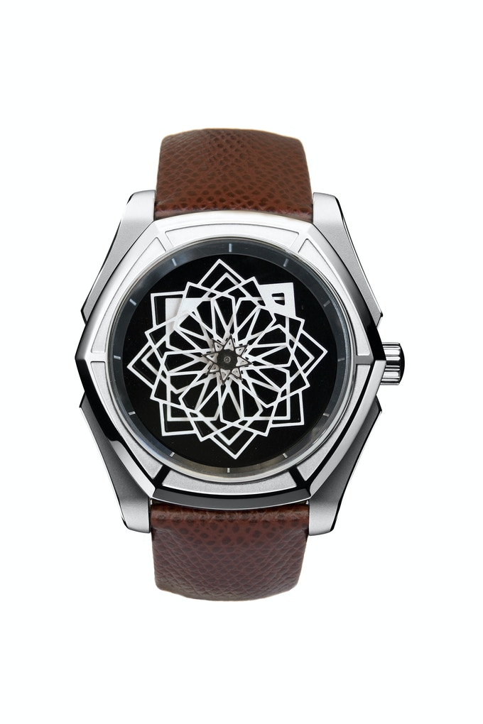 TANOURA - Onyx Dial - 44mm / Limited Edition of 100 pieces  CLICK HERE TO SEE THE VIDEO