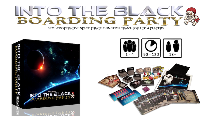 Into The Black: Boarding Party by I Will Never Grow Up