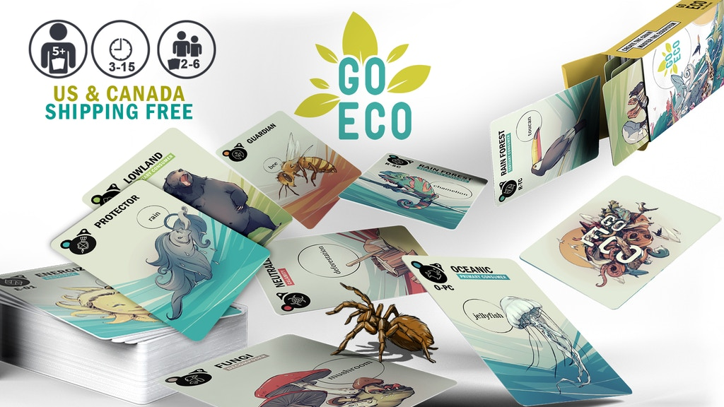 Go Eco - Quite a Different Card Game project video thumbnail