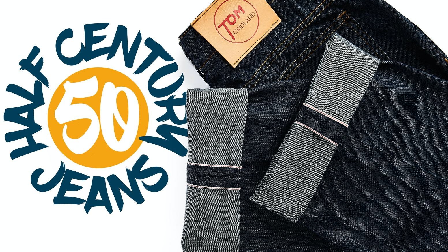 Insanely durable selvedge denim, backed with a 50 Year Guarantee.