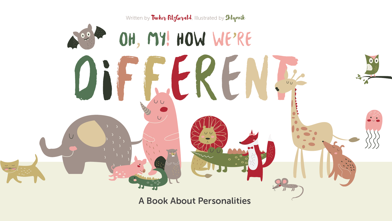 oh my how we re different personality types for kids by tucker
