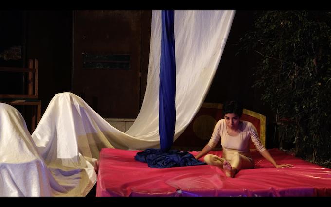 production still--Alejandra Herrera (Violeta)