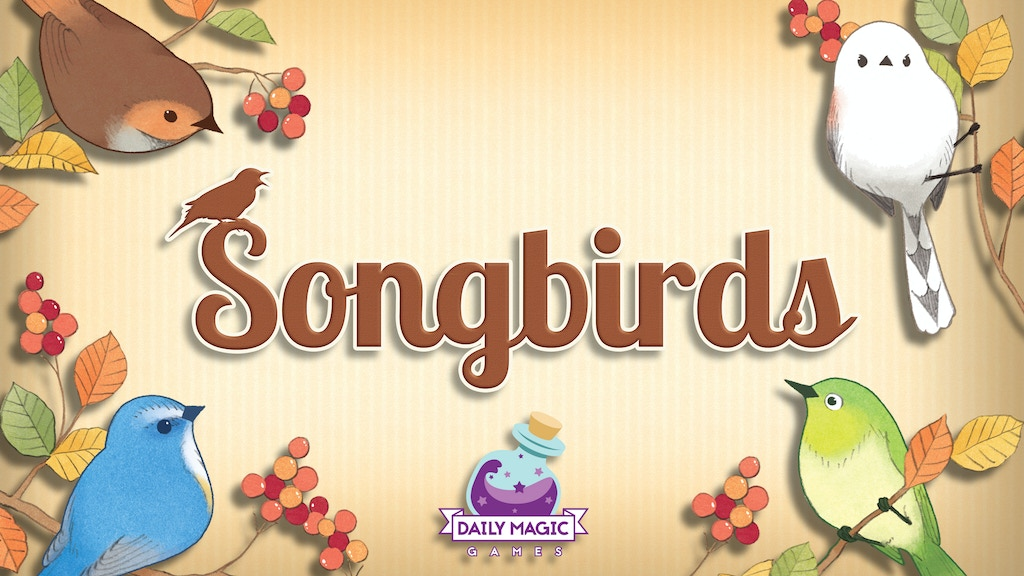 Songbirds project video thumbnail