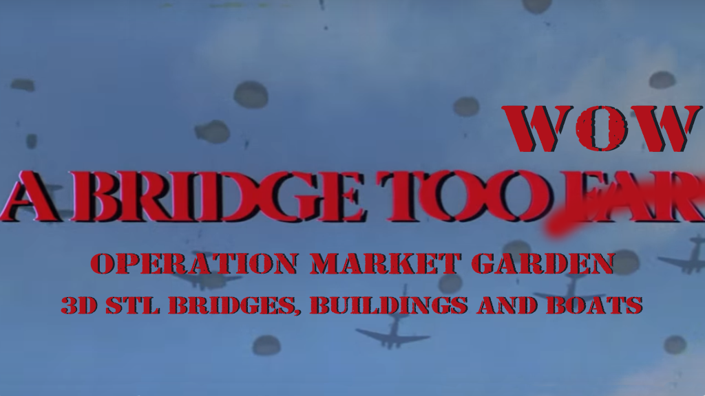 A Bridge Too WoW - 3D STL Bridges, Buildings, Terrain & more project video thumbnail