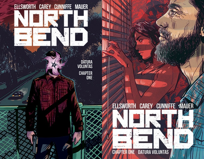 Covers for #1 by Robert Carey and Tula Lotay